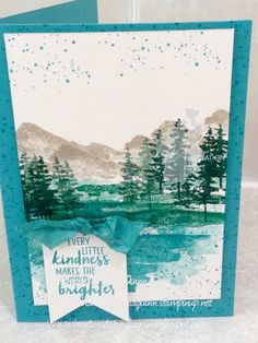 handmade by Julia Quinn: Loving the greens..... Colour INKspiration #26