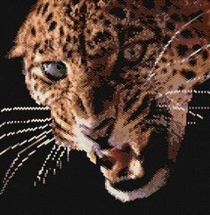 Check out this beaded leopard!