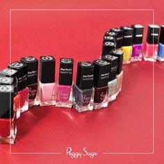 les minis vernis Peggy Sage emportez-les partout grâce à leur petits format. Trouvez vos couleurs parmi une centaines de référence !