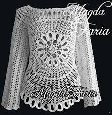 ผลการค้นหารูปภาพสำหรับ blusa ana maria braga receita