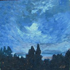 Evelyn Oldroyd's  Painting Blog: Summer Nocturne Painting Gallery, Nocturne, Art Blog, Landscapes, Artist, Summer, Paisajes, Scenery, Summer Time