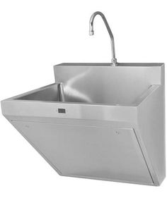 Commercial stainless steel wall-hung washbasin OPTIMA® : ESS-2100 Sloan