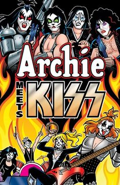 Buy Archie Meets KISS by Alex Segura, Dan Parent and Read this Book on Kobo's Free Apps. Discover Kobo's Vast Collection of Ebooks and Audiobooks Today - Over 4 Million Titles! Paul Stanley, Gene Simmons, Rock N Roll Music, Rock And Roll, Arte Zombie, Rock Band Photos, Kiss World, Kiss Me Love, Vintage Kiss