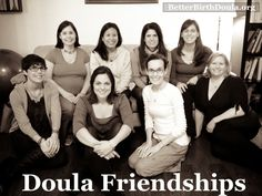 """Why you need to be friends with your """"competition"""" - doula networking, and the value of connecting with your birth community."""