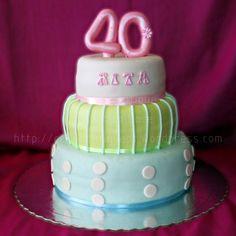 Bolo dos 40 / 40th anniversary cake  #Quarenta #Forty #Bolo #Oeiras #Cake