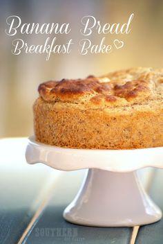Recipe: Banana Bread Breakfast Bakes