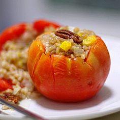 Barley-Stuffed Tomatoes