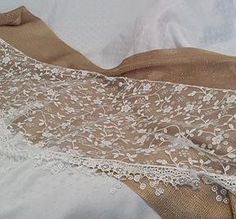 Flower Lace Tichel - White - http://www.royalhaircovers.com/?product=triangle-floral-hair-scarves-white