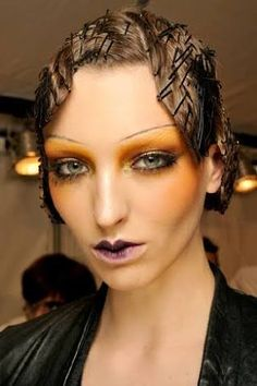 alexander mcqueen makeup - Google Search