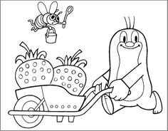 how to draw krtek (mole) Zdenek Miler Coloring Sheets, Coloring Pages, Fairy Tale Crafts, Coloring For Kids, Mole, Baby Toys, Origami, Fairy Tales, Art Projects