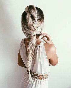 beautiful, beauty, braid, fashion, girls, hair, style, woman