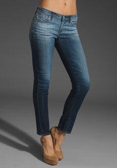 AG Stilt (Vintage Wash)....softest/most comfortable jeans in the world.