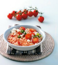 Tomatenrisotto Rezept - ESSEN & TRINKEN