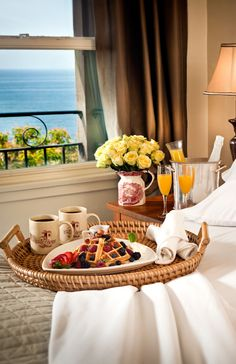 Good Morning Beautiful, Breakfast in bed, anyone? LadyLuxuryDesigns