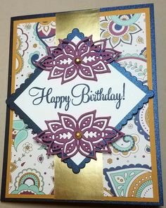 Stampin' Up Paisleys and Posies