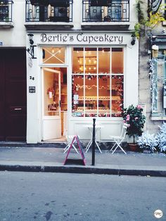 Berties Cupcakery, 26 rue Chanoinesses 75004 Paris