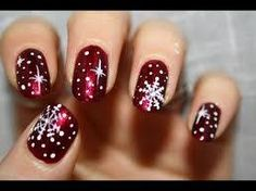 Christmas snowflake nail art nail art christmas nail designs snowflake christmas nails Related posts: Winter nails with snowflake; red and white Christmas nails; sweet and unique Chr Blue Christmas snowflake … Christmas Nail Art Designs, Holiday Nail Art, Winter Nail Art, Winter Nails, Christmas Design, Christmas Colors, Nail Designs For Christmas, Holiday Makeup, Simple Nail Art Designs