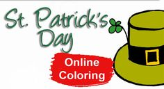 St Patrick's Day Online Coloring Pages Online Coloring Pages, St Patrick