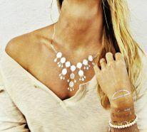 Tatouage éphémère métallisé - un joli accessoire de mode pour l'été