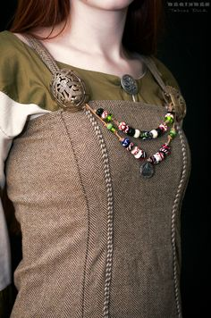 Viking garb by Tobias Dick on Costume Viking, Viking Garb, Viking Dress, Medieval Costume, Medieval Dress, Medieval Fashion, Viking Knit, Norse Clothing, Medieval Clothing