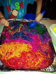 Paper Plate Spaghetti And Meatballs Craft Preschool