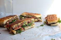 Prosciutto & Fig Panini by Tracy Shutterbean Best Grilled Cheese, Grilled Cheese Recipes, Sandwich Recipes, Fig Recipes, Summer Recipes, Healthy Recipes, Fresh Figs, Greens Recipe, Prosciutto