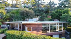 2317 Bancroft Avenue, Silver Lake, CA - Compass Outdoor Sofa Sets, Outdoor Dining Set, Modern Homes For Sale, Brick Patios, Wood Siding, Design Within Reach, Midcentury Modern, Midcentury Ranch, Silver Lake