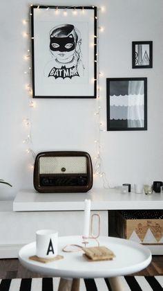 Ideas deco: Iluminación encantadora con guirnaldas luminosas