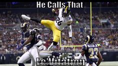 Le'Veon Bell Flies Over Rams MEME (Week 3)  NFL