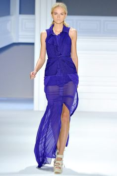 Vera Wang - Spring 2012 Ready-to-Wear