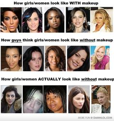 Before/After Photos That Shows REAL Power Of Makeup