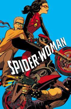 Spider Woman 6 cover by Javier Rodríguez