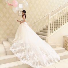 \これは試着するべき/marry選挙で決めたタカミブライダルの〔本当に可愛い〕ドレスランキング発表♡にて紹介している画像