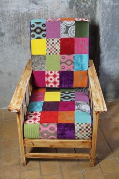 patch chair rookstoel