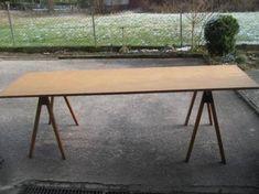 Bildergebnis Für Gartentisch Holzböcke