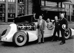 1935 film of Ab Jenkins on Utah's Salt Flats racing both an Auburn Speedster and a Duesenberg racer