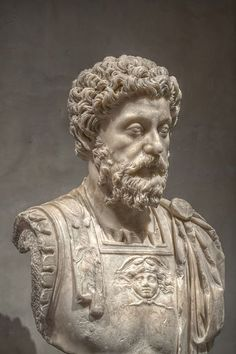 Marcus Aurelius, was Roman Emperor from 161 to 180. He ruled with Lucius Verus as co-emperor from 161 until Verus' death in 169. He was the last of the Five Good Emperors, and is also considered one of the most important Stoic philosophers.