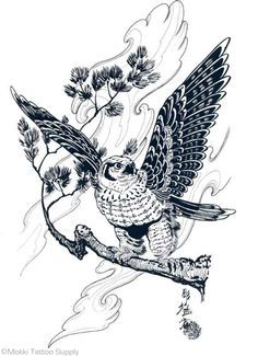 100 Japanese Tattoo Designs I By Jack Mosher Aka Horimouja Dream Tattoos, Life Tattoos, Tatoo Art, Tattoo Drawings, Adler Tattoo, Tattoo Posters, Art Posters, Hawk Tattoo, Eagle Art