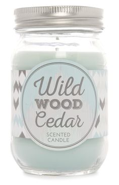 Primark - Geurkaars Wild Wood Cedar in pot