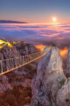 Mount Ai-Petry at Night, Crimea, Ukraine                                                                                                                                                      Mais
