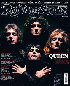 I primi 100 numeri di Rolling Stone. N°59 – settembre 2008. Queen @QueenWillRock in copertina. #cover
