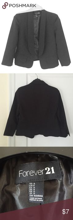 Black Blazer Forever 21 Black Blazer Forever 21 Jackets & Coats Blazers