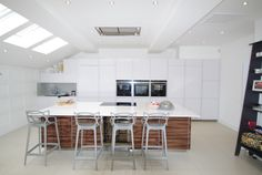 MASTERS Stools by Philippe Starck  for Kartell. A designer kitchen in seconds
