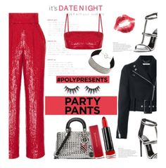 """#PolyPresents: Fancy Pants"" by dianefantasy ❤ liked on Polyvore featuring Rasario, Givenchy, Christian Dior, Tom Ford, Max Factor, contestentry and polyPresents"