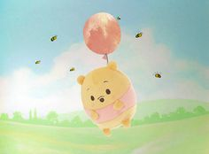 He's off in search of honey again~ Winnie The Pooh Cake, Winne The Pooh, Disney Winnie The Pooh, Cute Cartoon Drawings, Disney Drawings, Cute Disney, Disney Art, Disney Store Toys, Pixar