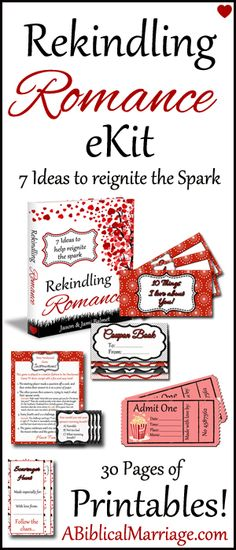 Rekindling Romance ~ 7 Ideas to Help Reignite the Spark eKit