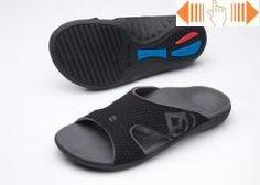 Spenco Kholo Womens Orthotic Slide Sandals - Patterned Oynx