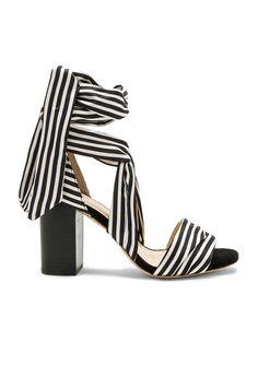 RAYE Maggie Heel in Black Stripe | REVOLVE