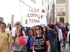 01 - Cercavila Trobades d'Escoles en Valencià 2013 a Pedreguer (315) Foto: laveupv.com