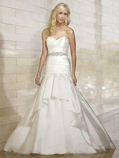 Elva-Vestido de Noiva em tafetá - dresseshop.pt